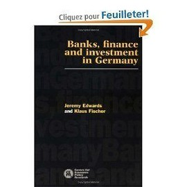 Banks, Finance And Investment In Germany - Jeremy Edwards