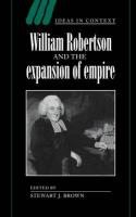 William Robertson and the Expansion of Empire