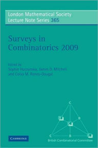 Surveys in Combinatorics 2009 - Sophie Huczynska