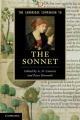 The Cambridge Companion to the Sonnet - A. D. Cousins; Peter Howarth