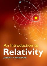 An Introduction to Relativity - Jayant Vishnu Narlikar