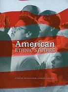 American Ethnic Studies: Custom Edition for Cypress College