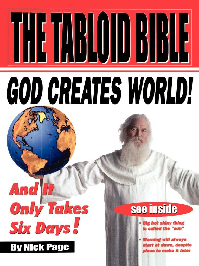 The Tabloid Bible als Buch von Nick Page - Westminster John Knox Press