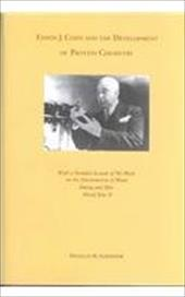 Edwin J. Cohn and the Development of Protein Chemistry: With a Detailed Account of His Work on the Fractionation of Blood During a - Surgenor, Douglas M.