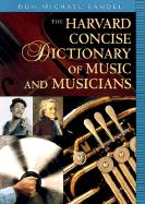The Harvard Concise Dictionary of Music and Musicians