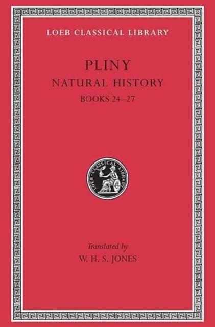 Natural History - Books 24-27 - Index of Plants Rev L393 V 7 (Trans. Jones)(Latin)