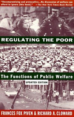 Regulating the Poor: The Functions of Public Welfare - Herausgeber: Piven, Frances Fox Cloward, Richard A.