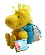 Peanuts Woodstock Backpack Book with Toy