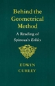 Behind the Geometrical Method - E. M. Curley