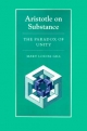 Aristotle on Substance - Mary Louise Gill
