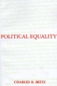 Political Equality - Charles R. Beitz