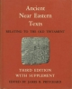 Ancient Near Eastern Texts Relating to the Old Testament with Supplement - James B. Pritchard