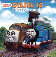 Diesel 10 Means Trouble (Turtleback School & Library Binding Edition) - Rev. W. Awdry, Richard Courtney (Illustrator)