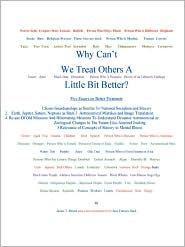 Why Can't We Treat Others a Little Bit Better?Five Essays on Better Treatment - James T. Struck