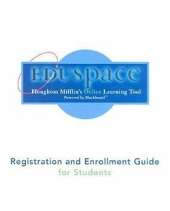 Precalculus, Algebra Eduspace Registration and Enrollment Guide - Herausgeber: Houghton Mifflin Company