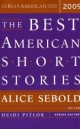 The Best American Short Stories - Alice Sebold