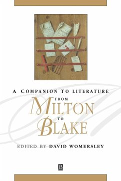 Companion Lit Milton to Blake - Herausgeber: Womersley, David