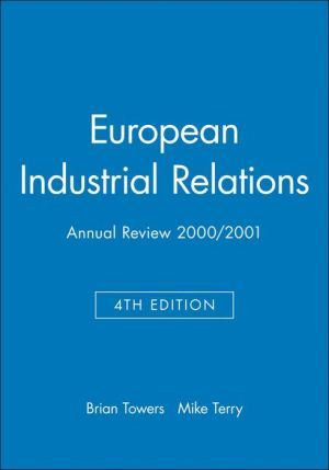 European Industrial Relations: Annual Review 2000/2001