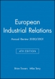 Industrial Relations Journal European Annual Review - Brian Towers; Michael Terry