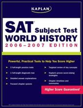 Kaplan SAT Subject Test: World History