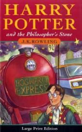 Harry Potter and the Philosopher's Stone, large print edition - Joanne K Rowling