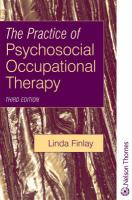 Practice of Psychosocial Occupational Therapy