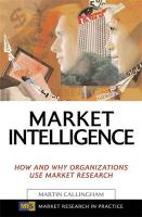 Market Intelligence: How and Why Organizations Use Market Research