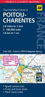Road Map Poitou-Charentes (AA Touring Map France 04)