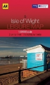 AA Leisure Map Isle of Wight