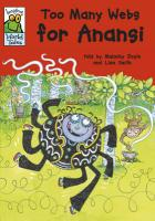 Too Many Webs for Anansi (Leapfrog World Tales)