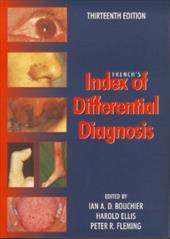 French's Index of Differential Diagnosis - Bouchier, Ian A. D. / Ellis, Harold / Fleming, Peter R.