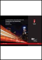 Icaew - Application Level AA Passcards