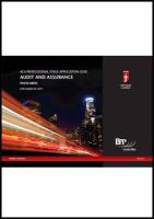 Icaew - Application Level Business Strategy Passcards