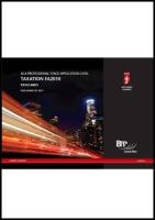 Icaew - Application Level Fr Passcards