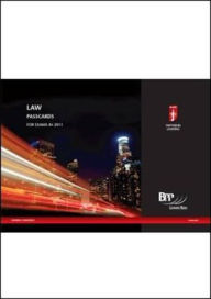 Icaew - Knowledge Level Assurance Passcards - BPP Learning Media