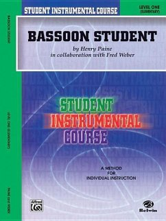 Student Instrumental Course Bassoon Student: Level I - Weber, Fred Paine, Henry