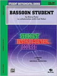 Student Instrumental Course Bassoon Student: Level I - Henry Paine
