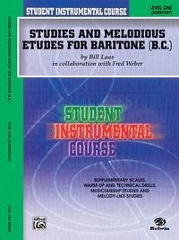 Student Instrumental Course Studies and Melodious Etudes for Baritone (B.C.): Level I - Weber, Fred Laas, Bill