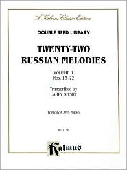 Twenty-two Russian Melodies, Vol 2: Nos. 13-22 - Larry Sitsky