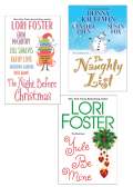 The Naughty List Bundle with The Night Before Christmas & Yule Be Mine - Donna Kauffman