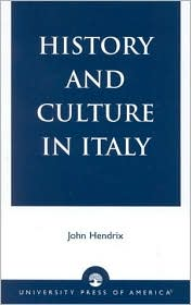 History and Culture in Italy