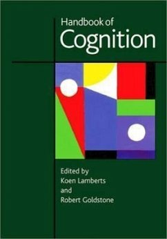 Handbook of Cognition - Lamberts, Koen / Goldstone, Rob