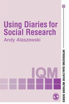 Using Diaries for Social Research - Alaszewski, Andy