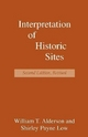Interpretation of Historic Sites - William T. Alderson; Shirley Payne Low
