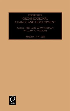 Research in Organizational Change and Development - Woodman, Richard W. Pasmore, William A.