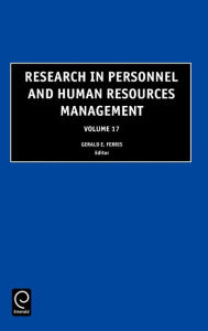 Research in Personnel and Human Resources Management, Volume 17 - Ferris G. R. Ferris