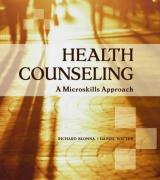 Health Counseling: A Microskills Approach