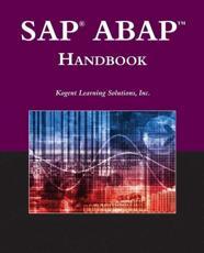 SAP ABAP Handbook - Inc., Kogent Learning Solutions