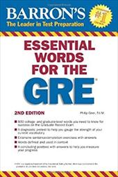 Barron's Essential Words for the GRE - Geer, Philip