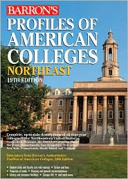 Profiles of American Colleges, Northeast - Barron's Educational Series (Editor)
